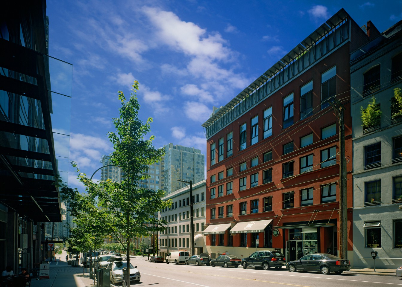 Beatty St Live Work Studios Residential Yaletown Vancouver