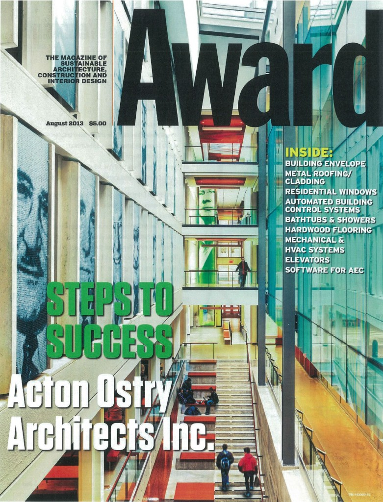Acton Ostry Architects Media And Publications
