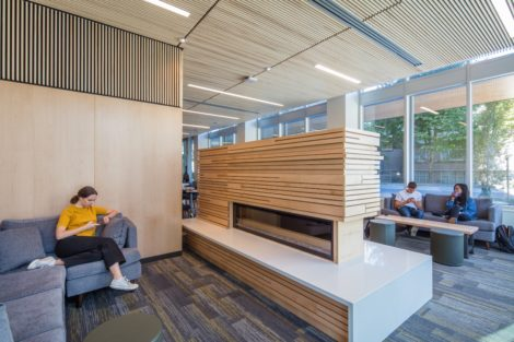 social and study space