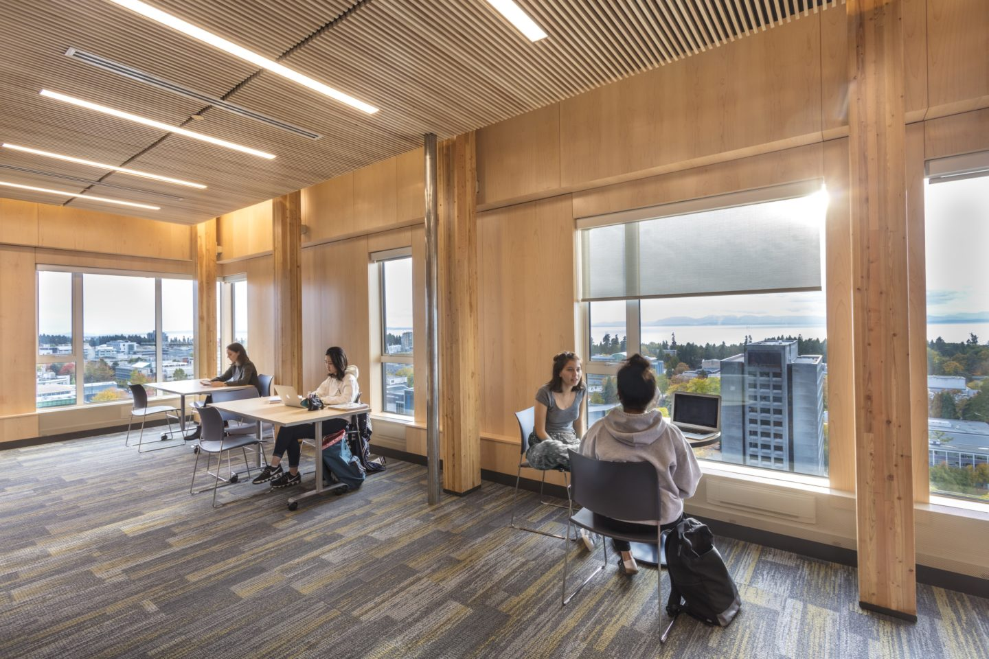 Brock Commons Tallwood House Ubc Hybrid Mass Timber Building