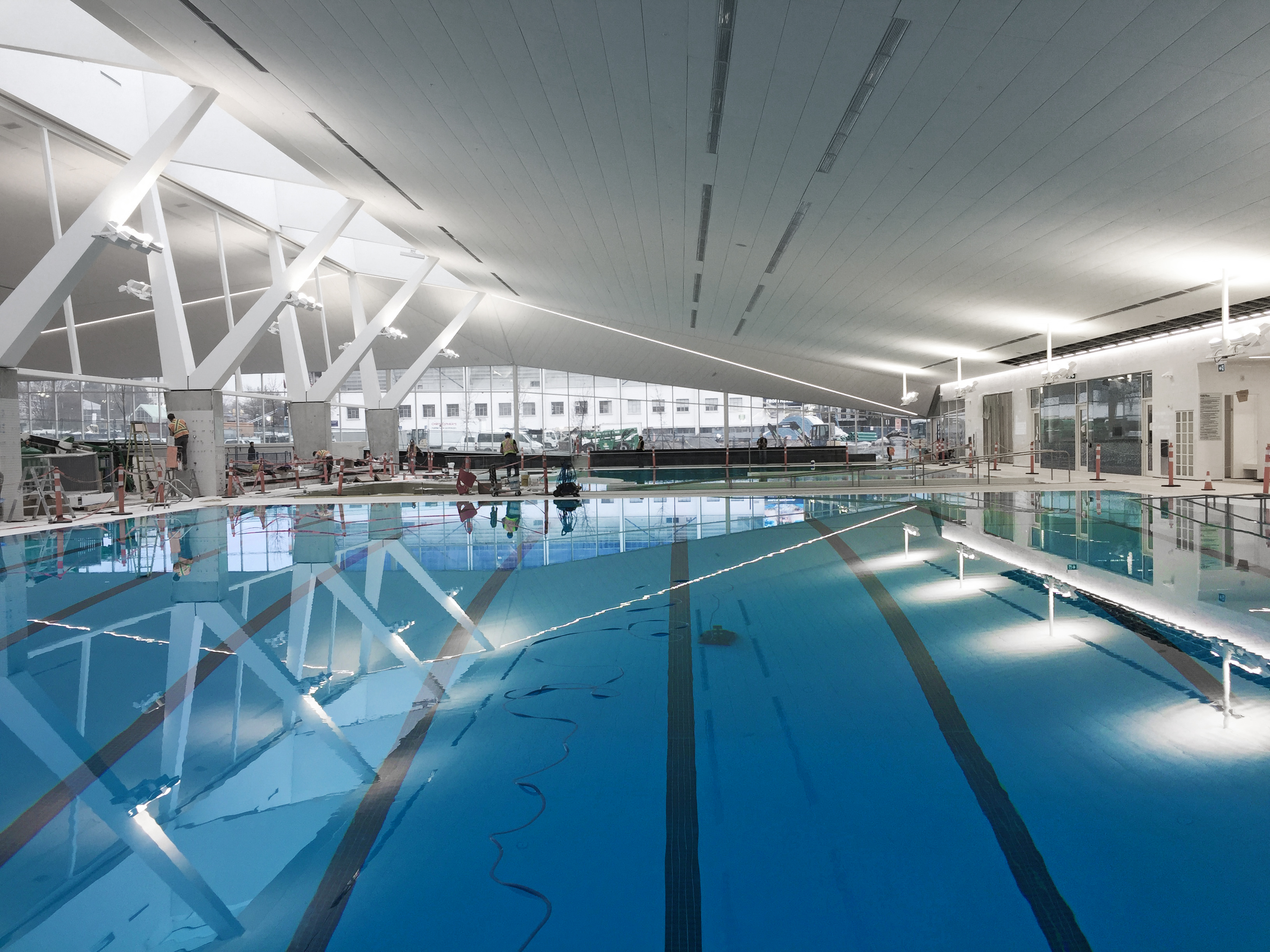 Ubc aquatic centre acton ostry architects - West vancouver swimming pool schedule ...