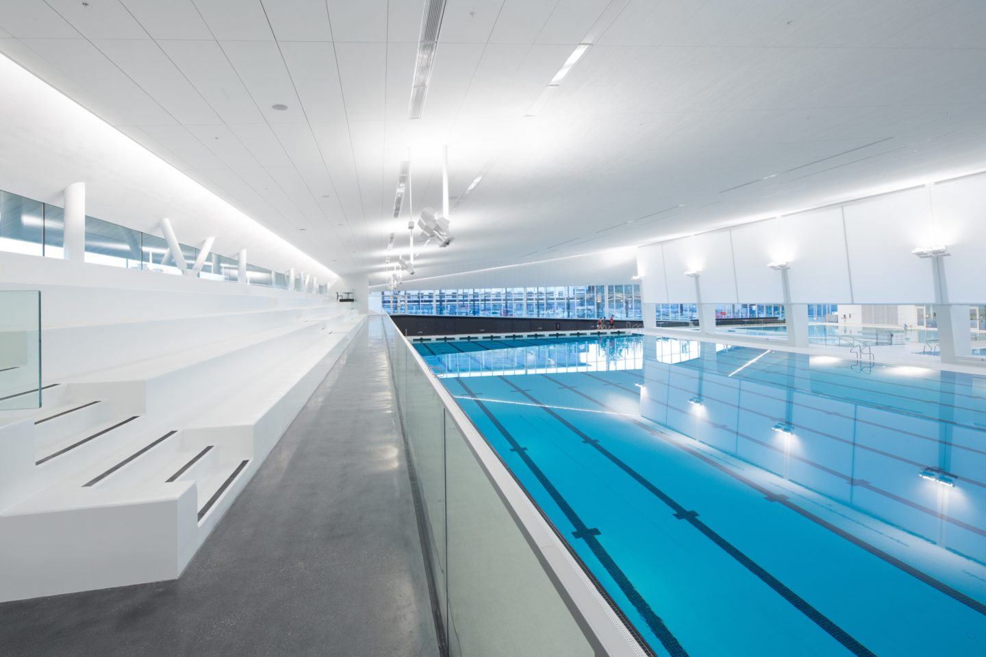 Ubc aquatic centre architectural design project vancouver - Best indoor swimming pools in london ...