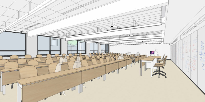 large format classroom
