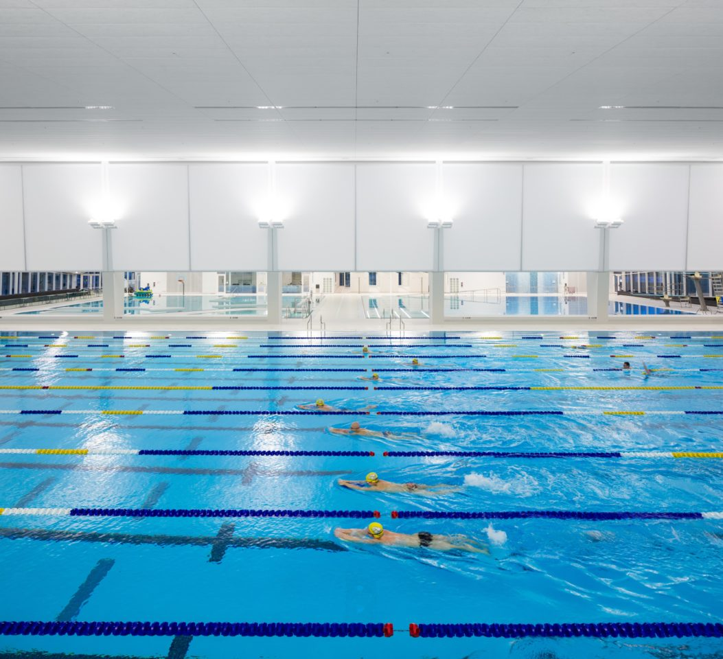 Ubc aquatic centre architectural design project vancouver for Pool design certification