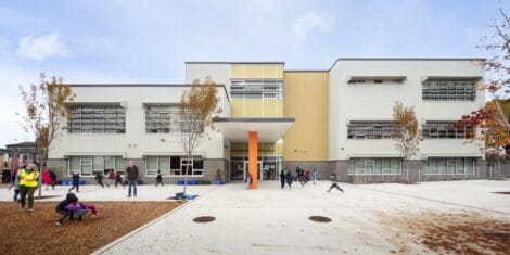 kindergarten and classroom blocks