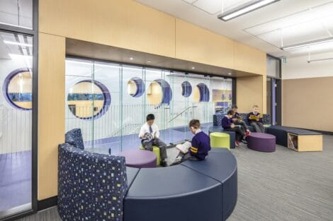 Lannon Hall learning commons